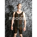 Latex vest with front zipper