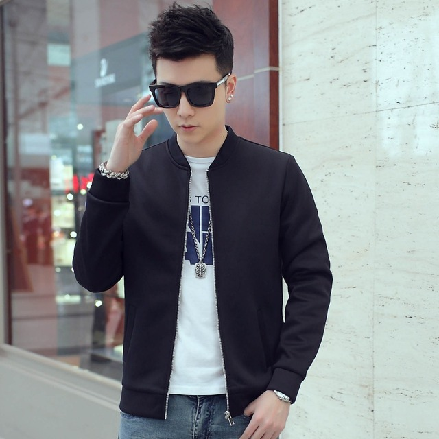 ab4a1077c84 2018 New Fashion Brand Jacket Men Clothes Baseball Collar Trend Jackets And Coats  Plus Size 3XL 4XL 5XL