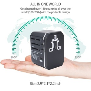 Image 2 - Rdxone Universal Travel Adaptor All in one Power Adapter wall Electric Plugs Sockets for Mobile Phone, Tablet, Camera, Laptop
