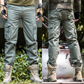Mens Army Cargo Pants Overalls Quality 100% Cotton Casual Trousers Militar Tactical Cargo Pants Black Khaki