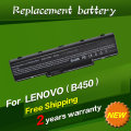 JIGU 4400mah 11.1v Replacement battery laptop Battery For LENOVO B450 B450A B450L L09M6Y21 L09S6Y21