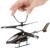 2CH Infrared Mini Drone RC Brinquedo Modelo de Helicóptero de Controle Remoto Elétrico CONDUZIU A Luz Cabeça com Controle Remoto Menino Caçoa o Presente
