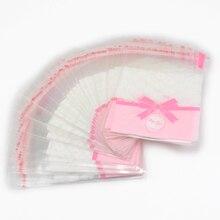Распродажа! Lucia Craft 7*10 см Подарочная посылка для торта s OPP пластиковая посылка, пакет с розовым кофейным бантом, бумажный пакет для конфет H1102
