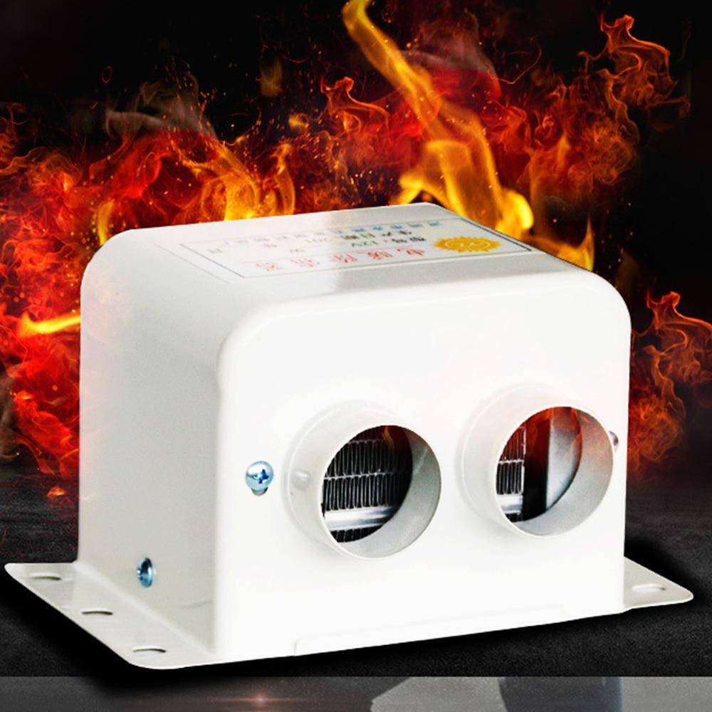 Car Electrical Appliances Dc 12-24 V 800w Four Hole Power Switch Button Air Diesels Heater Uniform Fast Car Fan Heater For Universal Car Vehicle Truck
