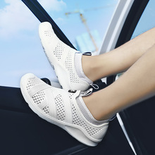 Bonjean 2019 Summer New Men Shoes Hot Sale Light Weight Breathable Casual Mesh Slip-on Outdoor Walking Soft Sandals