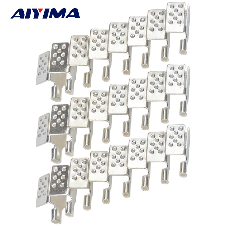 40pcs New Clamp Connector For Carbon Heating Film Warm Flooring carbon nanotube film for electrochemical energy storage devices
