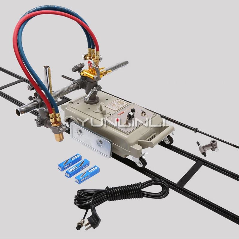 Flame Cutting Machine 220V Semi-automatic Gas Cutting Machine Steel Straight-line Cutter CG1-30