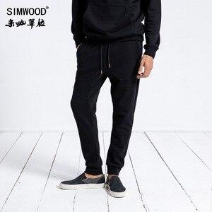 Image 3 - SIMWOOD Brand Sweatpants Men 2020 Winter Fashion Sport Jogger Pants Men Trousers Casual Letter Printed Hip Hop Streetwear 180552