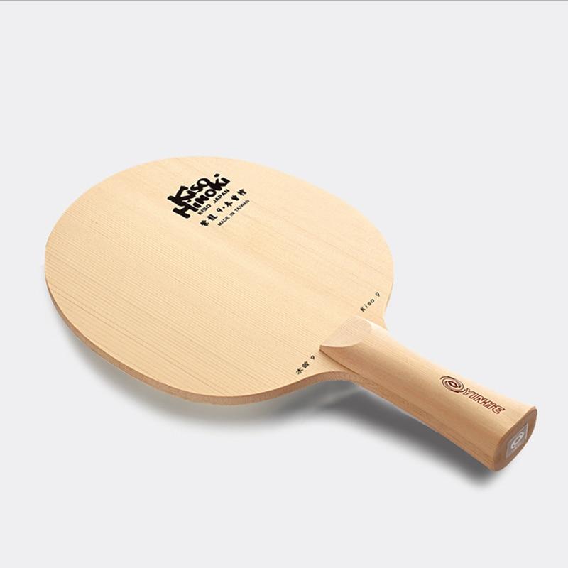 Yinhe Milky Way Galaxy  Kiso Hinoki 5/7/9 Table Tennis Racket Cypress Ping Pong Blade Japan Bat table
