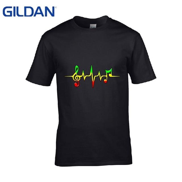 Gift Funny T Shirt Men Cotton Bob Marley Quotes Music Reggae Rastafari Casual