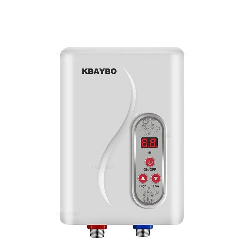 7000W chauffe-eau instantané électrique sans réservoir chauffe-eau instantané chauffe-eau électrique instantané rapide 3 secondes douche chaude