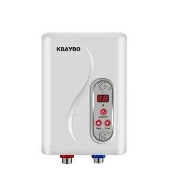 Calentador de agua instantáneo eléctrico sin tanque 7000 W calentador de agua instantáneo calentamiento de agua eléctrico instantáneo 3 segundos ducha caliente