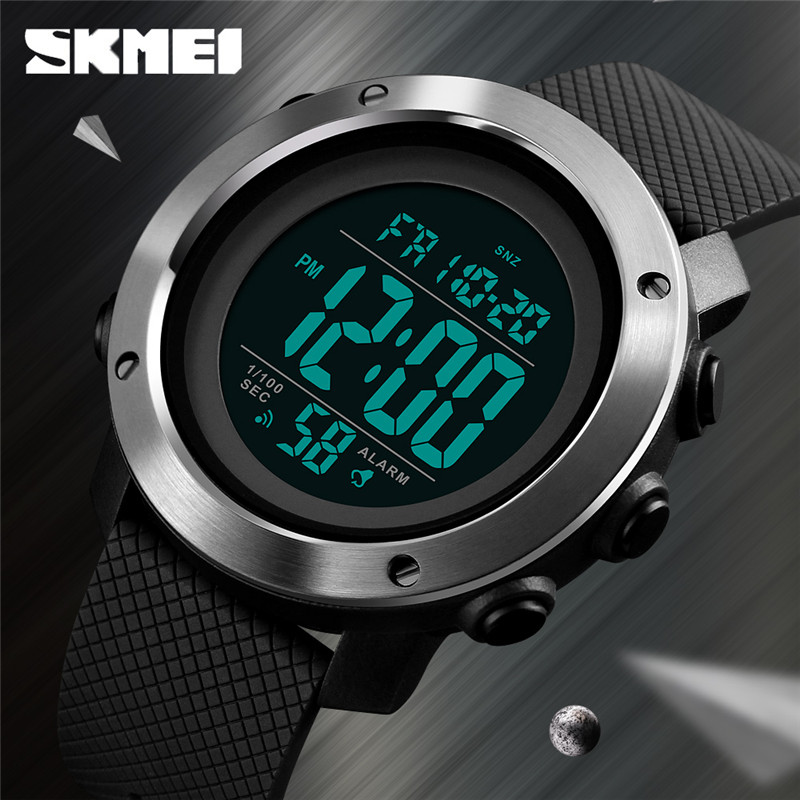 SKMEI Sports Watch Men's Digital Waterproof Watch Top Brand Luxury Outdoor Electronics Wristwatches Male Clock Relogio Masculino