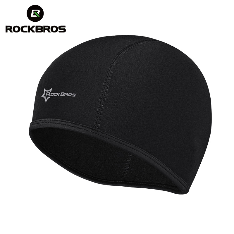 9c0eb50d37f ROCKBROS Winter Warm Cycling Cap Sports Bicycle Bike Running Skiing Fleece  Windproof Bandana Men Women Thermal Mask Caps Hats