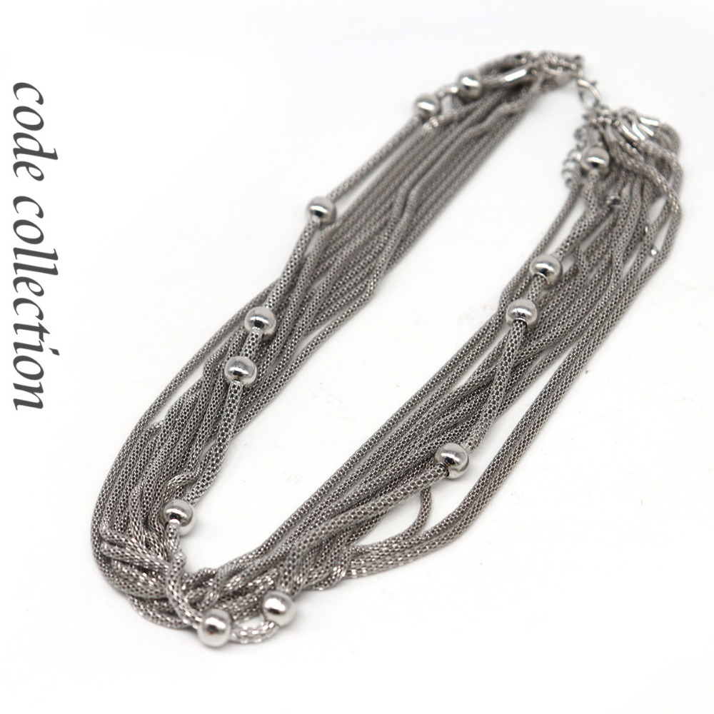 Vintage Multilayer Necklace...