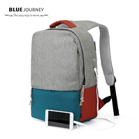 Men Laptop Backpack For 15 16 Inch USB Anti Theft Computer Backpacks Male Gray Bags Daypack