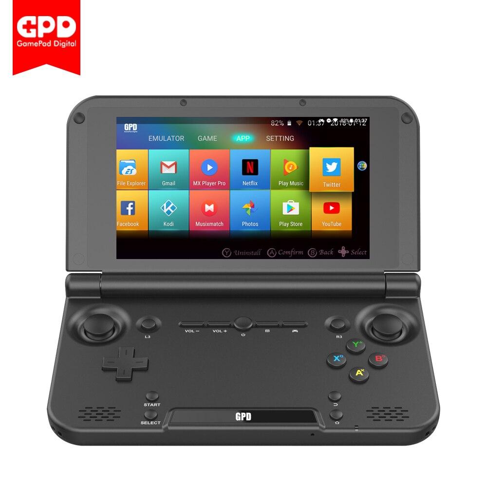 New Original GPD XD Plus 5Inch 4 GB/32 GB Android 7.0 CPU MT8176 Hexa-core Handheld Game Console Laptop ( Black )