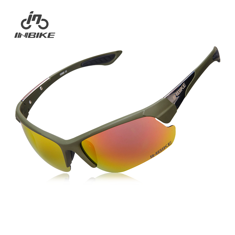 INBIKE Polarized Cycling Glasses Bicycle Bike Sunglasses Outdoor Sports Glasses Cycling Eyewear UV Proof IG968