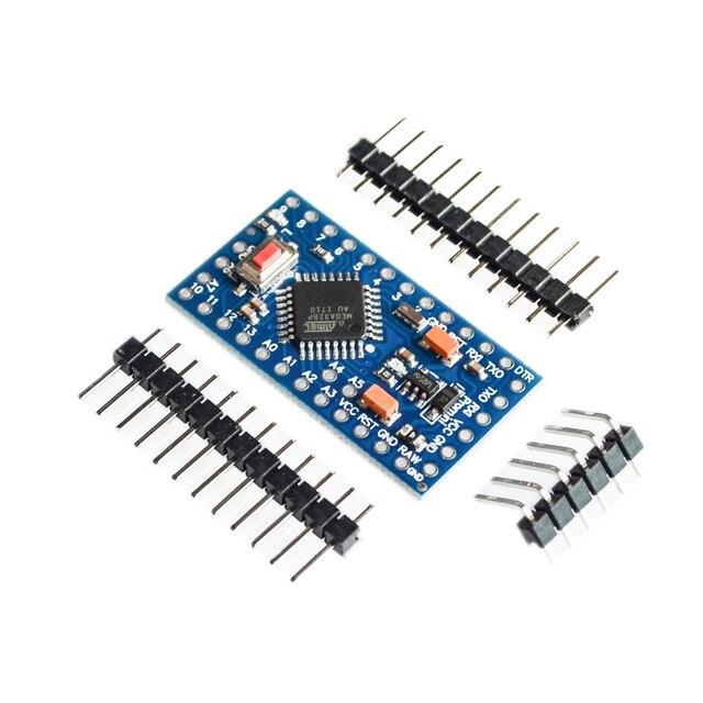 Con il bootloader 10 pz/lotto ATMEGA328P Pro Mini 328 Mini ATMEGA328 5V 16MHz per arduino