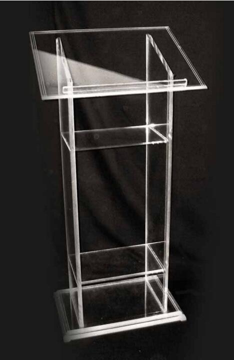 Acrylic Stand Designs : Hot sell pulpit stand acrylic podium lectern