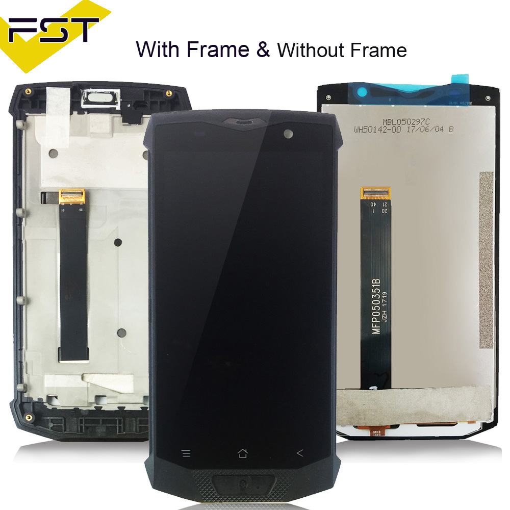 High Quality Lcd Screen For Blackview BV8000/ BV8000 Pro Lcd with Touch Screen Digitizer with Frame Assembly Replacement Parts