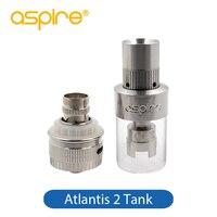 Aspire Atlantis 2 Atomiseur Réservoir 3 ml Capacité 510 Fil Cigarette Électronique Vaporisateur Atomiseur Air Réglable Atlantis2 Réservoir