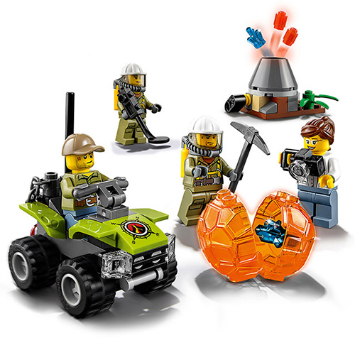 10637 Bela City Series Volcano Starter Set Geological Prospecting Building Block Bricks Toys Compatible With Legoings 60120 a toy a dream 10641 city series volcano exploration base geological prospecting building block bricks toys gift for children