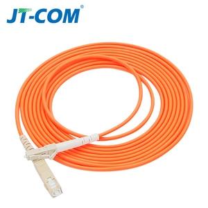Image 5 - 10 stücke 1Gb OM2 LC LC Faser Kabel Multimode Duplex 2,0 3,0 mmFiber Optic Patchkabel LC FC LC SC LC ST Multimode simplex Faser Kabel