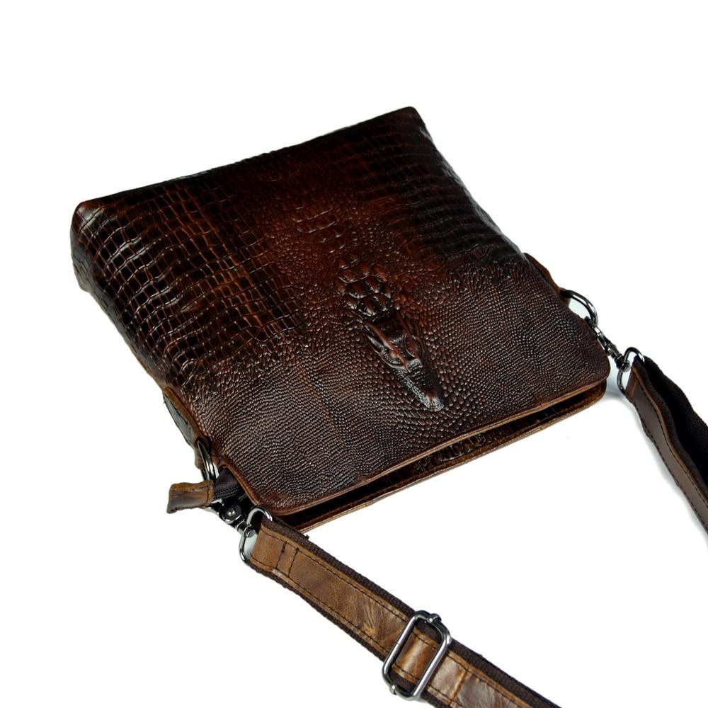 genuíno pequeno bolsas atravessadas for Pattern Tipo : Crocodile