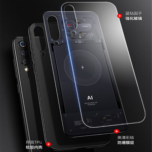 Image 2 - หรูหรากระจกนิรภัยสำหรับ Xiao mi mi 9 TPU Soft Edge กระจกนิรภัยสำหรับ Xiao mi mi 9 mi 9 se Aixuan