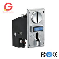 CH 924 Multi Coin Mech Acceptor Coin Selector for Vending Machine, Coin Laundromat, Massage Chair, Arcade Jamma Video Game Etc..