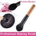 Professional Super Soft Big Powder Brush Face Blusher Loose Finish Powder Makeup Fixed Brush Single Angled Flame Shape