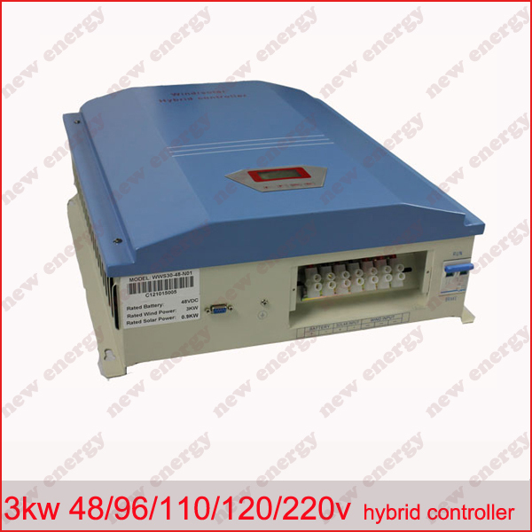 3KW 96V LCD display wind solar hybrid charge controller панель декоративная awenta pet100 д вентилятора kw сатин
