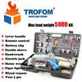 Peso máximo de carga 5000 KG USV Automático eléctrico gato hidráulico elevador de coches de control remoto Inalámbrico kit de herramientas herramientas de reparación de neumáticos