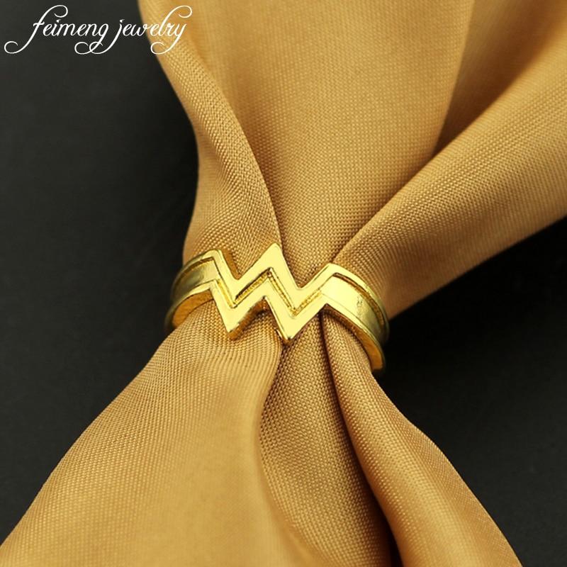 Wonder Woman Stacking Ring Super Hero 3D Wonder Woman Logo Geeky Engaged Ring Girl Power Diana Prince Ring Movie Cosplay Jewelry