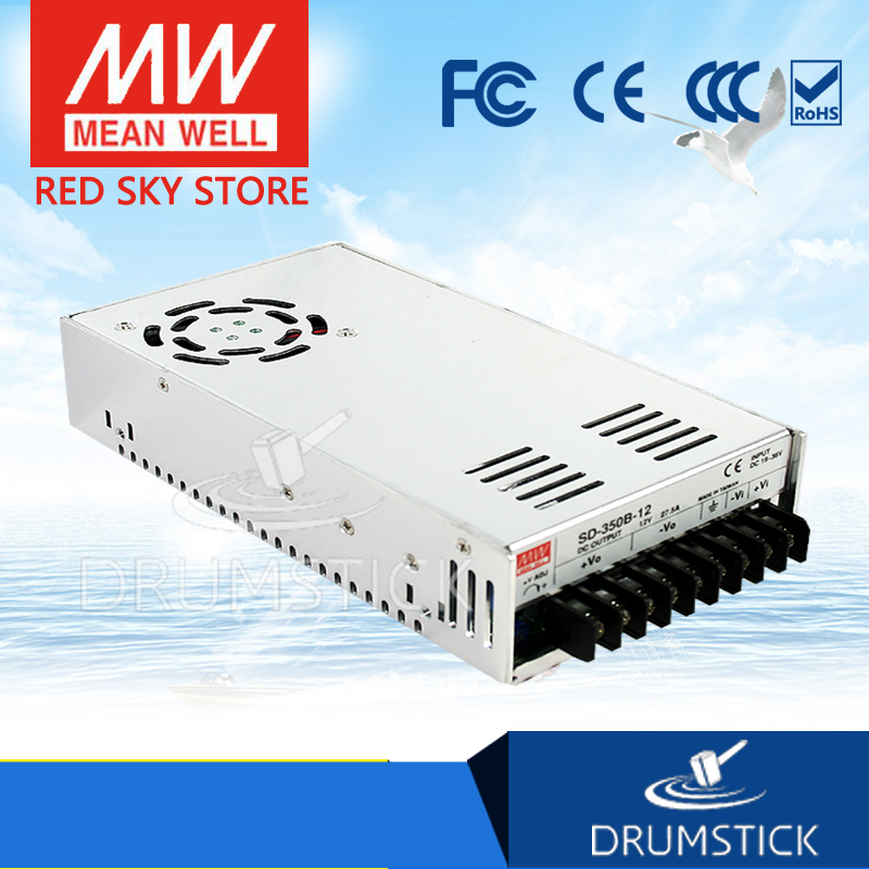 hot-selling MEAN WELL SD-350B-5 5V 57A meanwell SD-350 5V 285W Single Output DC-DC Converter [Real6] genuine mean well sd 50b 5 5v 10a meanwell sd 50 5v 50w single output dc dc converter