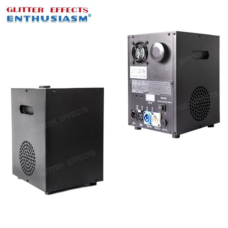 Mini Cold Spark Fountain Machine Dmx Stage Effect Titanium Powder Fire Machine