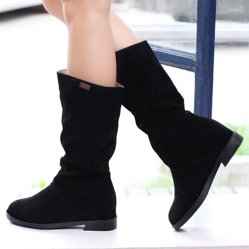 Large-size-women-boots-winter-long-boots-flat-womens-boots-Black -White-Brown-flat-heels-half.jpg