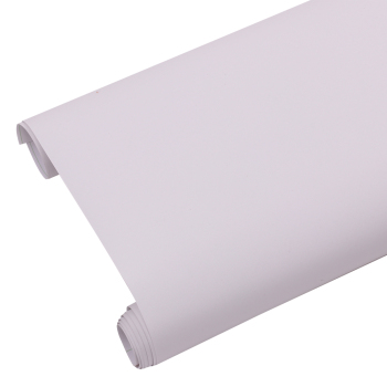 HOHOFILM 1.22x3m White Matte Window Film Decorative Tint Privacy Bathroom Bedroom Glass Sticker Frosted 48''x118''