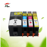 YI CAI LE substituição do cartucho de tinta Compatível Para hp 6500A 920XL 920 para hp Officejet 920 6000 6500 Sem Fio 7000 7500 7500A Cartuchos de tinta     -