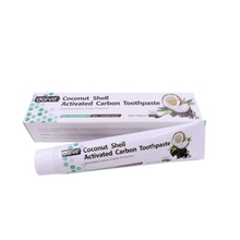 Pro Activated Carbon Toothpaste Black  Stain Removal Teeth Whitening