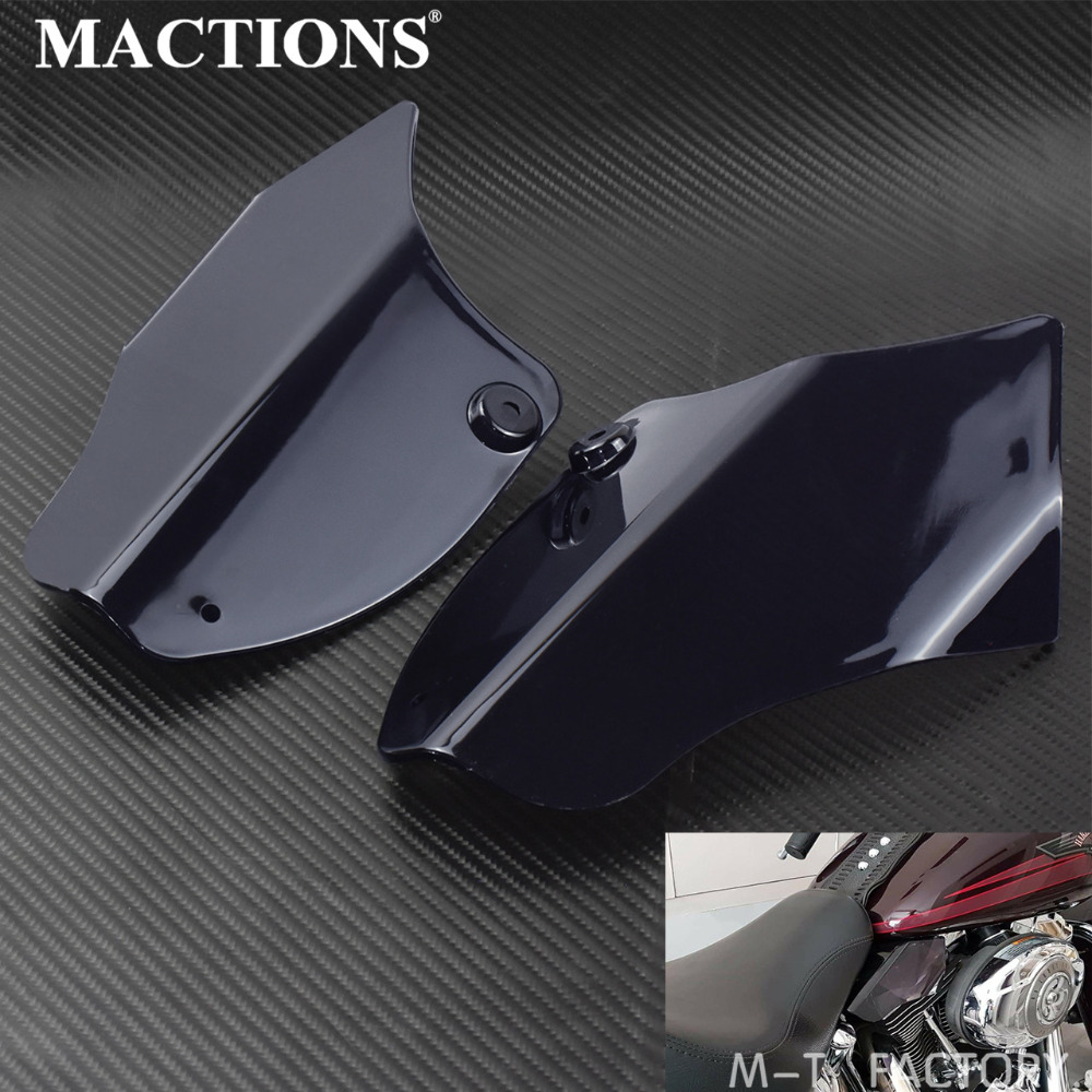 Motorcycle Saddle Shields Air Heat Deflector Air Heat Deflector Plastic Kits For Harley Softail 2000 2014