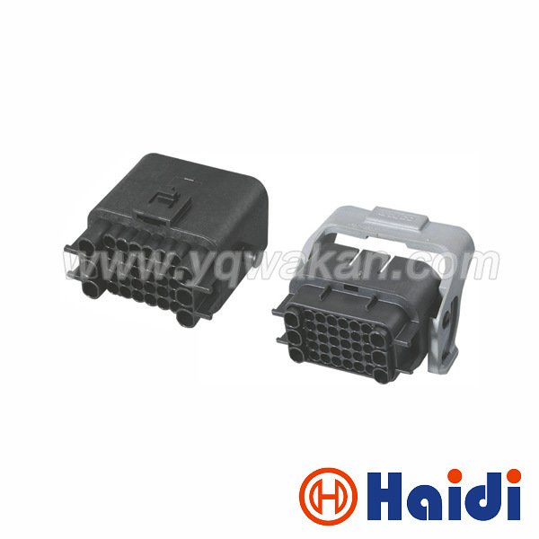 Free shipping 1sets 36pin ECU connector, 36 way auto computer male&female connector 1743062-2 1743059-2 free delivery car engine computer board ecu 0261208075
