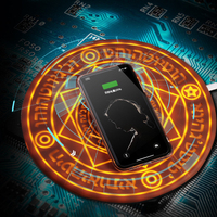 Magic Array Wireless Charger Pad Phone Chargers IphoneXS Max Samsung S10 S9 Note9 QI Wireless Charging Station Base Universality