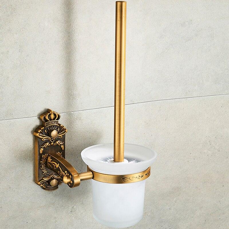 Image 3 - Nail Free Toilet Brush Holders Antique Bronze Bathroom AccessoriesToilet Brush Holders   -