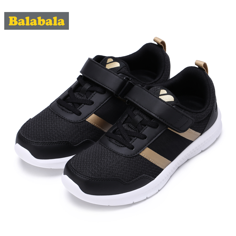 Balabala 2018 New Brand Running shoes For boys Kids Sports Shoes Breathable Mesh Children girls Sneakers Light-weight Footwear hot new ultra light breathable children shoes boys and girls sports shoes running shoes outdoor walking shoes fly woven coconut
