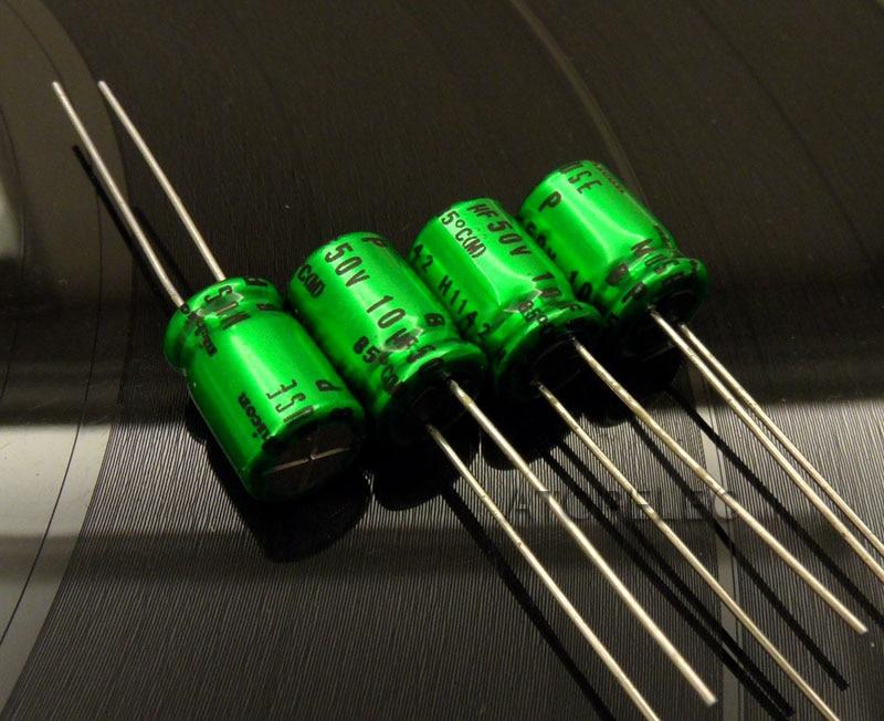 50 un 10uF 50V 5x11mm 50V10uF Alta Calidad Nichicon FW Condensador De Audio Hi-fi