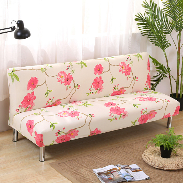 High Fashion Flower Printed Elastic All Covered Universal Non Slip  High Grade Customizable Sofa