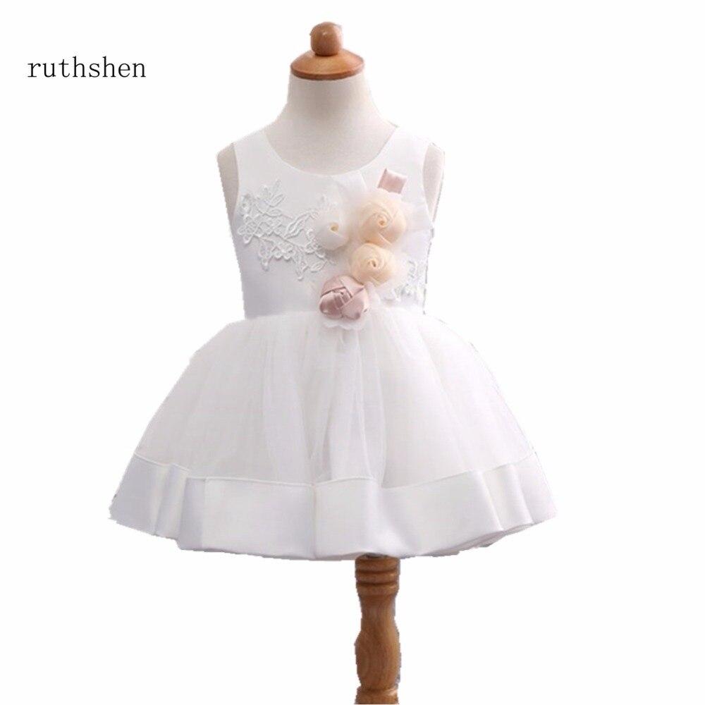 ruthshen Child Flower Girl Dresses for Weddings Princess Birthday ...
