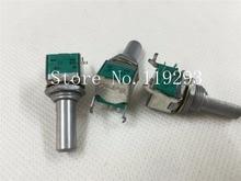 [BELLA]New imported Japanese ALPS potentiometer RK097 double precision volume potentiometer A100K 15 Axle–10PCS/LOT